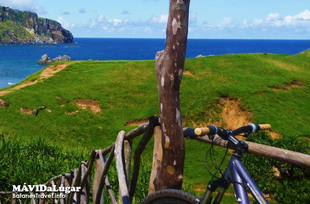 Biking in Batanes