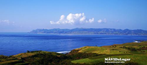 View from South Batan Island in Uyugan Batanes